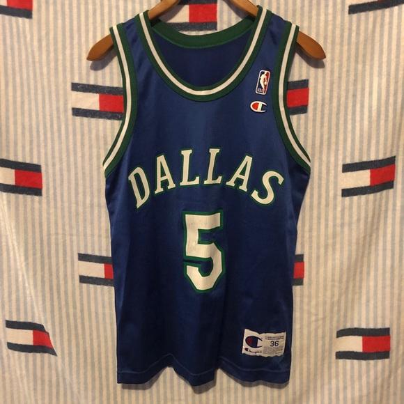 Vintage Champion Dallas Mavericks jersey